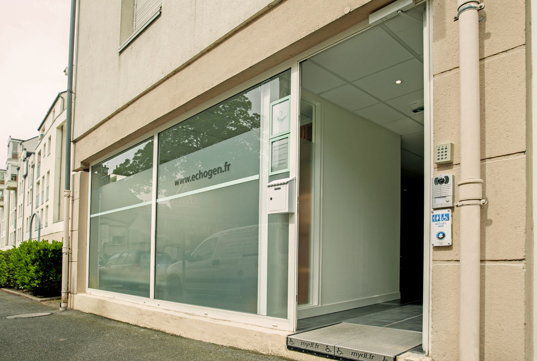 Devanture cabinet echographie Echogen à Orléans